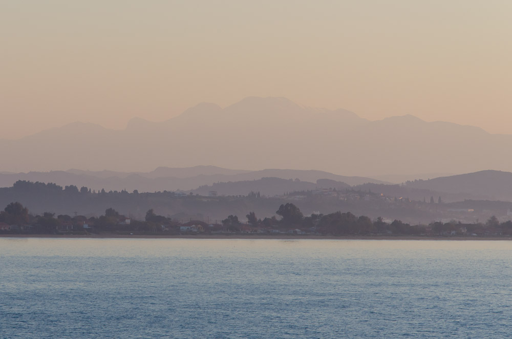 Hazy Greece