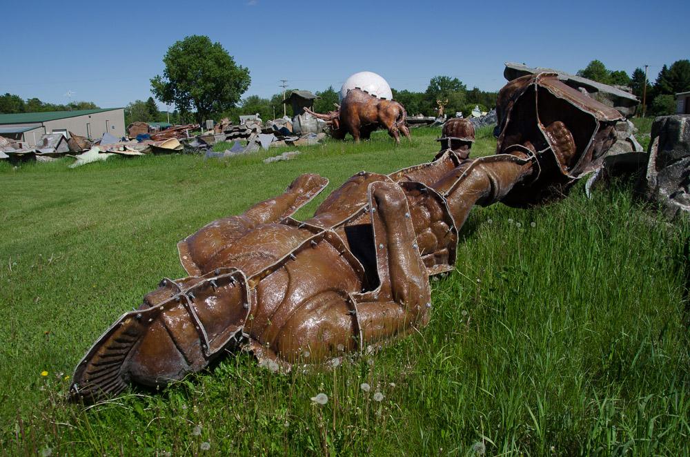 fibreglass graveyard