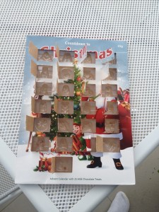 advent calendar photo